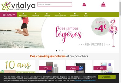 Site internet de Vitalya