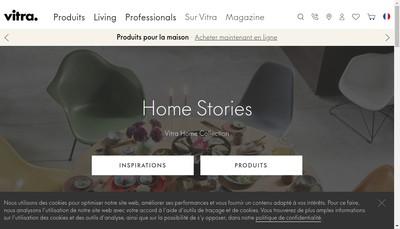 Site internet de Vitra