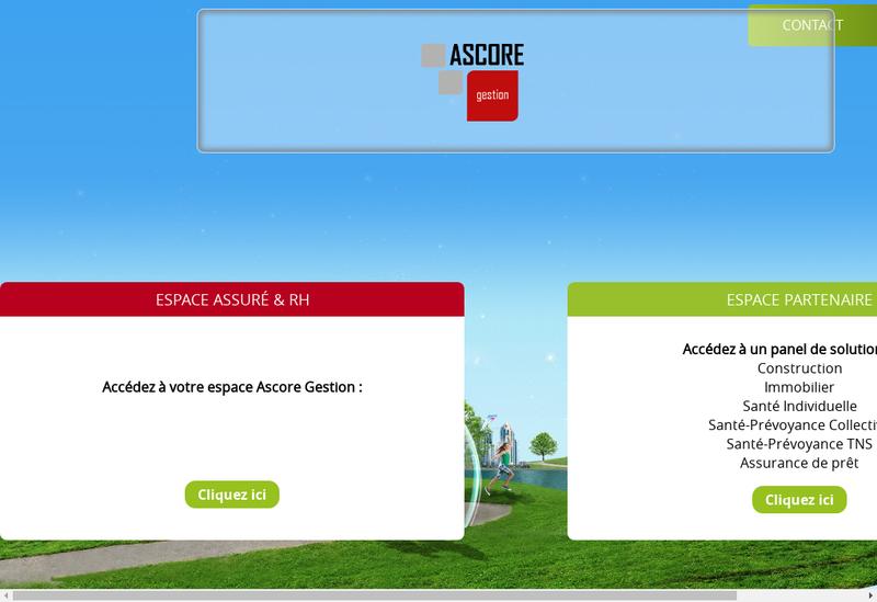 Capture d'écran du site de Axelliance Solution
