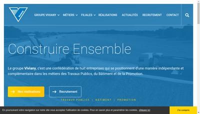 Site internet de Berthouly Construction