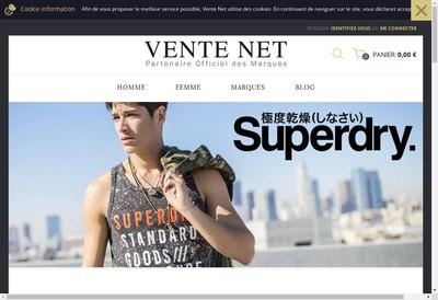Site internet de Vente Net
