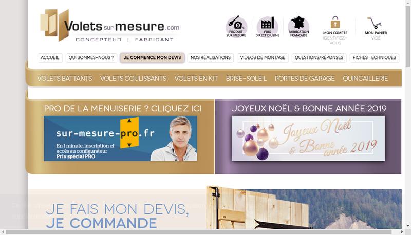 Capture d'écran du site de FVI