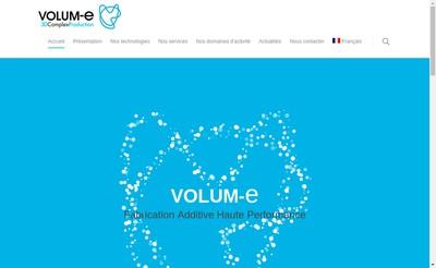 Site internet de Volum-E
