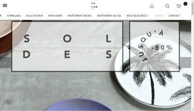 Site internet de Volum