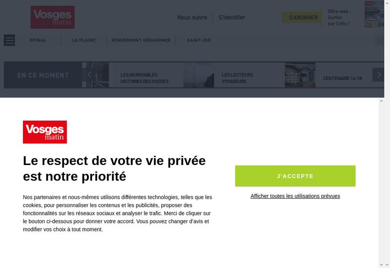 Capture d'écran du site de Societe Edition Journal Liberte Est