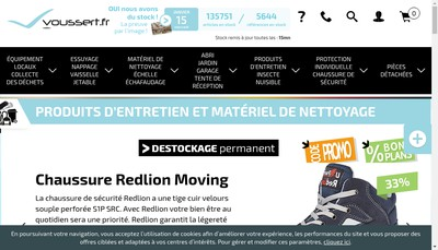 Site internet de Voussert