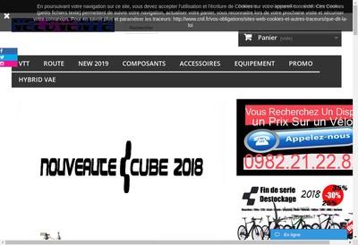 Site internet de Velovente