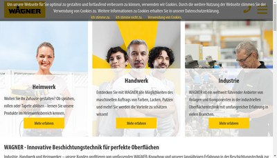 Site internet de Wagner Itep