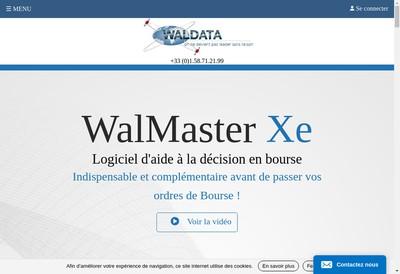 Site internet de Goldata