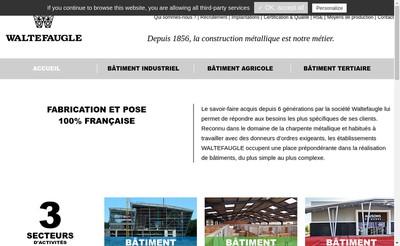 Site internet de Waltefaugle Batiment