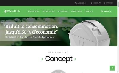 Site internet de Eco-Neves