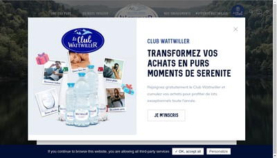 Site internet de Grandes Sources Wattwiller