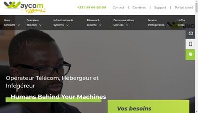 Site internet de Waycom International