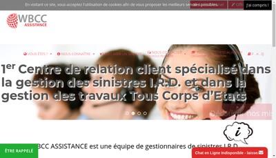Site internet de Wbcc Assitance