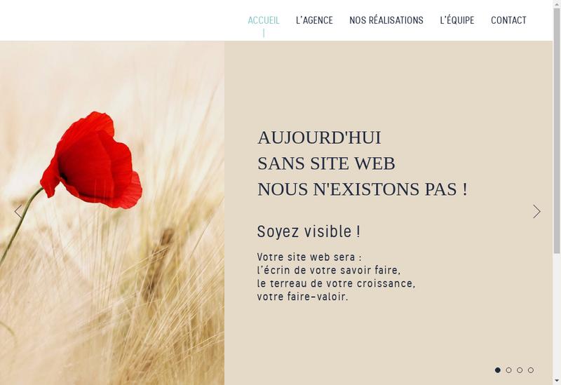 Site internet de Web Adn