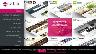 Site internet de Web Images Associees