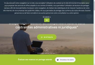 Site internet de Webportage - Skinportage- Ikkao