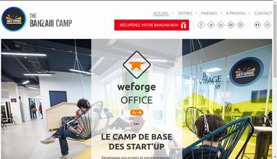 Site internet de Weforge
