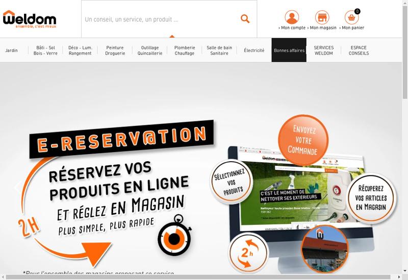 Capture d'écran du site de Hentges