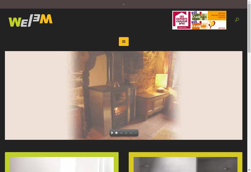 Capture d'écran du site de Welem