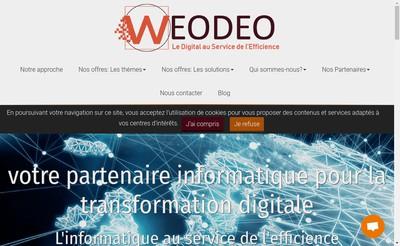 Site internet de Weodeo