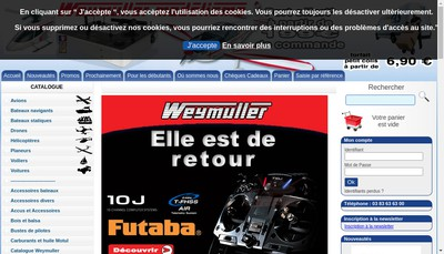 Site internet de Weymuller