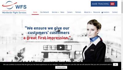 Site internet de Wfs Global