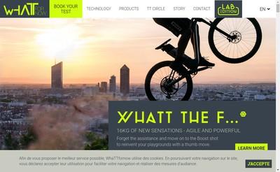 Site internet de Whattfornow