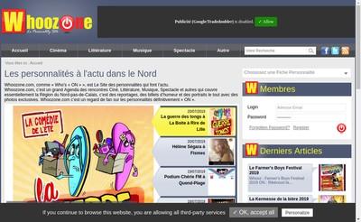 Site internet de Francois Cappeliez