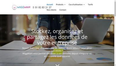 Site internet de Wiggwam