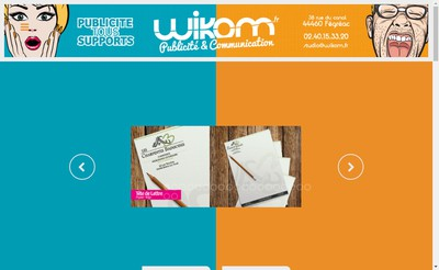 Site internet de Studio Wikom Iwage Photographies