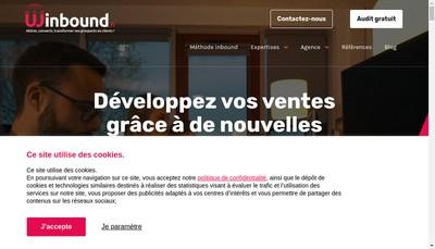 Site internet de Winbound