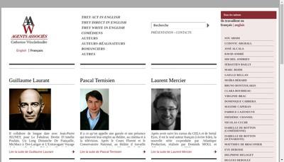 Site internet de Agents Associes Catherine Winckelmuller