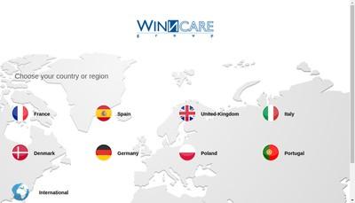 Site internet de Groupe Winncare