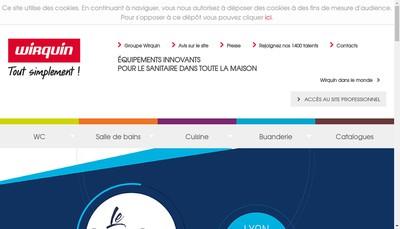 Site internet de Wirquin Plastiques