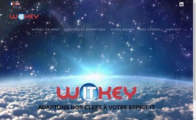 Site internet de Witkey