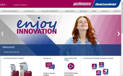 Site internet de Wittmann Battenfeld France