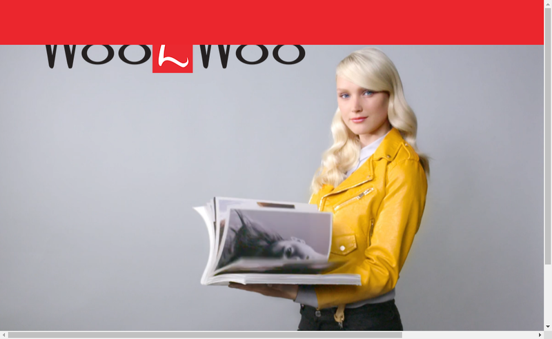 Capture d'écran du site de Wooz Woo