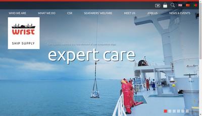 Site internet de Wrist Europe (Marseille)