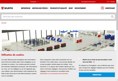 Site internet de Wurth Industrie France