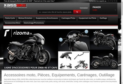 Site internet de X-Aiss Bike