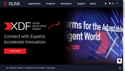 Site internet de Xilinx