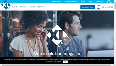 Site internet de Xl-Soft
