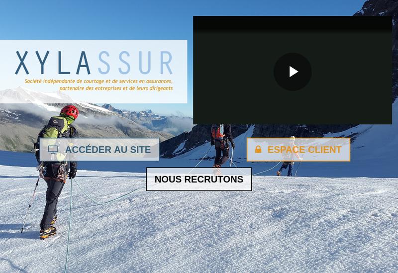 Capture d'écran du site de Xylassur