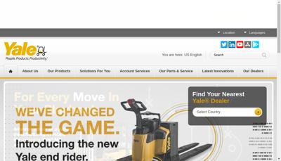 Capture d'écran du site de Fabre Manutention SAS
