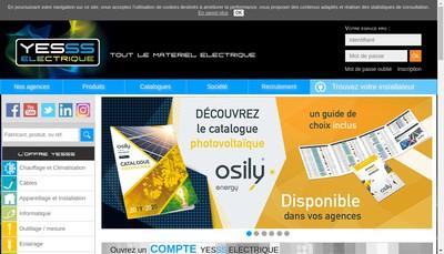 Site internet de Cef - Yesss Electrique