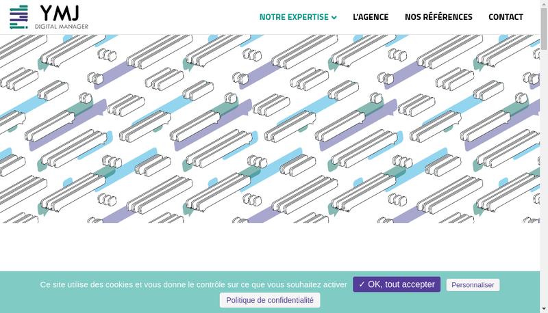 Capture d'écran du site de Ymj