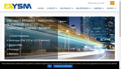 Site internet de Ysm Ceme Ace