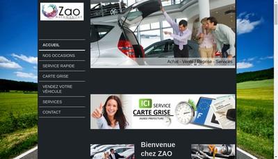 Site internet de Zao Automobile