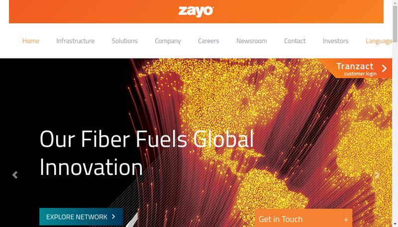 Capture d'écran du site de Neo Telecoms
